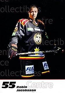 (CI) Robin Jacobsson Hockey Card 2013-14 Swedish Brynas IF Tigers Postcards 9 Robin Jacobsson