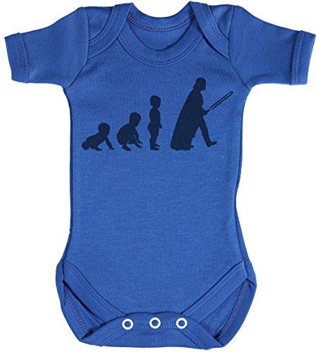 Baby Evolution to A Vader Body bébé - Gilet bébé - Body bébé Ensemble-Cadeau - Naissance Bleu