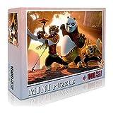 Po TigressPuzzle Classic 1000 Pieceskungfu PandaJigsaw Toy Lover Gift Decoración del hogar27.56 x 19.66' /70 * 50cm. Anime de Dibujos Animados
