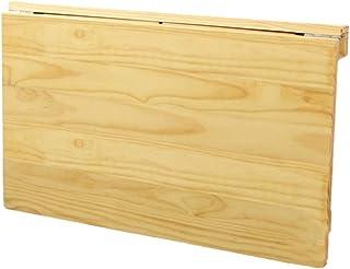 ERRU Table Murale Rabattable- Table Murale À Abattant Pliable, Bureau Suspendu pour Cuisine/Salle À Manger en Bois, Ordina...