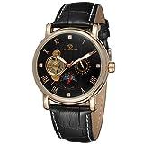 Forsining da uomo in vera pelle per orologio da polso con fasi lunari FSG800M3R1 automatico