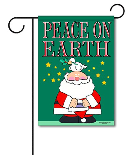 Peace on Earth Christmas Garden Flag - 12.5' x 18' - Double Sided Christmas Flag