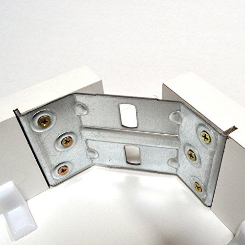 4er Set Tischbeschlag 136x75mm Tischwinkel Tischbeinverbinder Winkelverbinder