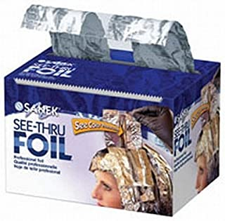 Graham 200 Ft Sanek See Thru Foil Roll Hair Color Processing Style Highlighting by Graham Professional