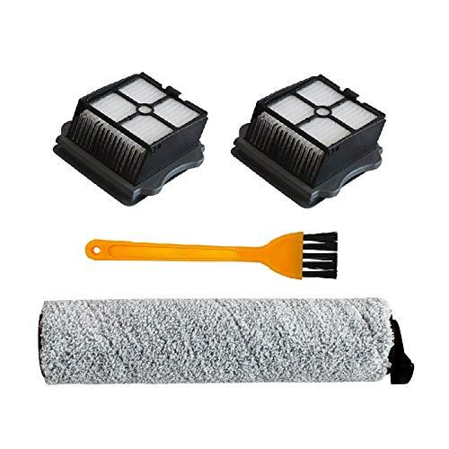 Etase Reemplazo del Rodillo del Cepillo de Filtro para Tineco Floor One/Ifloor Plus Filtro de Limpieza Repuestos Aspiradora
