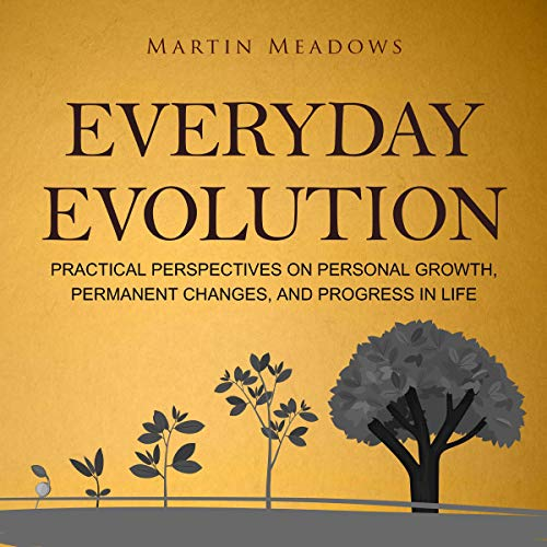 Everyday Evolution: Practical Perspectives on Personal Growth, Permanent Changes, and Progress in Life cover art