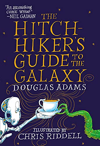 The Hitchhiker's Guide to the Galaxy: The Illustrated Edition (English  Edition) eBook : Adams, Douglas: Amazon.de: Kindle-Shop
