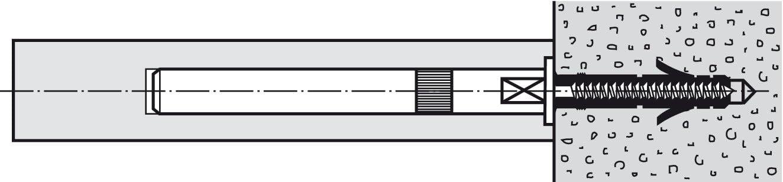 1, 80mm HARDWARE FOR YOU LTD Floating Shelf Concealed Hidden Brackets