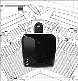 ProBEAST Dual Tone Motorcycle Air Horn - Black