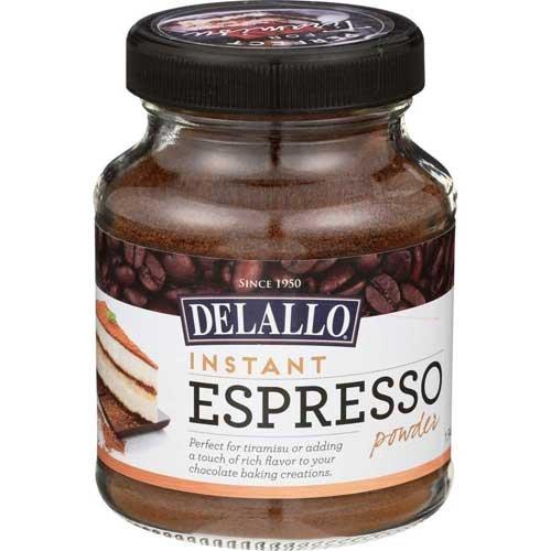 Delallo Instant Espresso Powder, 1.94 Ounce - 6 per case.