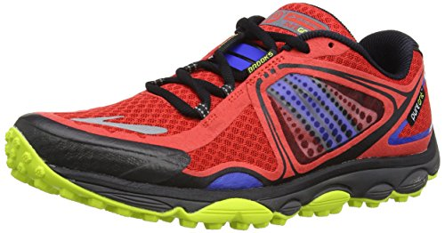 Browar Timing Systems Puregrit 3 - Zapatillas de running, rojo - High Risk Red/Electric/Lime Punch, 7 UK F