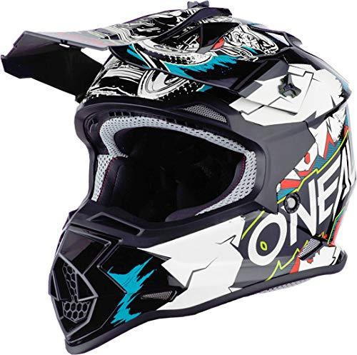 Oneal 2SRS Youth Helmet Villain White M (51/52 cm) Casco, Adultos Unis