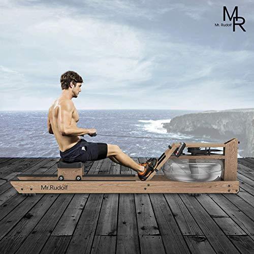 Mr Rudolf Natural Oak Water Rower