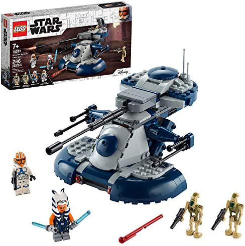 LEGO Star Wars The Clone Wars Armored Assault Tank AAT 75283 Building Kit Awesome Construction product image