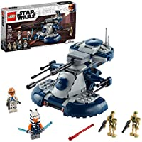 286-Pieces LEGO Star Wars: The Clone Wars Armored Assault Tank (AAT) 75283 Building Kit for Kids with Ahsoka Tano Plus Battle Droid Action Figures (New 2020)