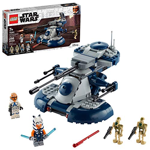 LEGO Star Wars: The Clone Wars Armored Assault Tank (AAT) 75283 Building Kit, Awesome Construction Toy for Kids with Ahsoka...