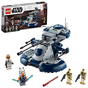 LEGO Star Wars: The Clone Wars Armored Assault Tank (AAT) 75283 Building Kit, Awesome Construction Toy for Kids with… - 51vfwx5eSnL - LEGO Star Wars: The Clone Wars Armored Assault Tank (AAT) 75283 Building Kit, Awesome Construction Toy for Kids with…