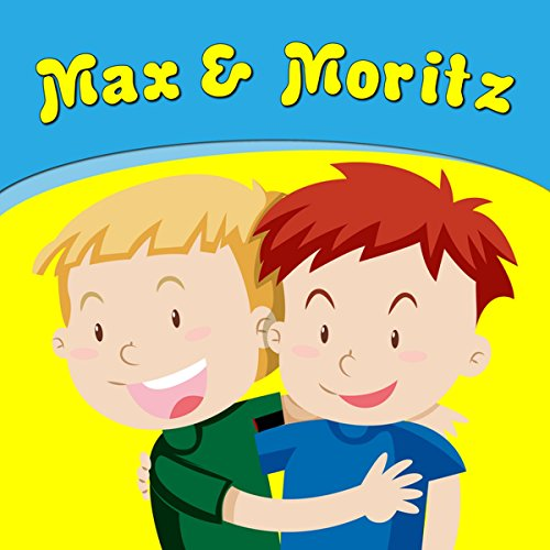 Max & Moritz audiobook cover art