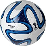 Shopper Stock PVC Blue Brazuca Football (Size 5)