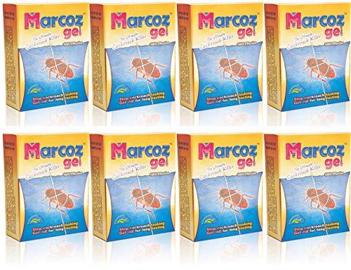 MMR Making Marvelous Marcoz Ultimate Cockroach Killer Gel (Red, Set of 8x10 ml)