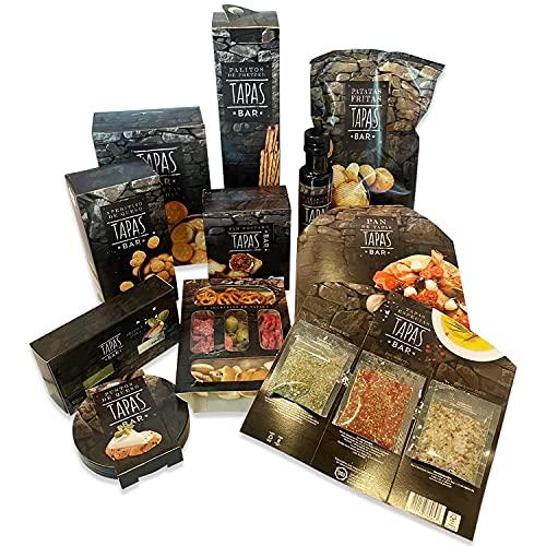Präsentkorb All Season - Geschenk-Box im außergewöhnlichem Design - Geschenke mit Stil (TAPAS BAR)