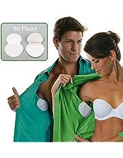 SISHUINIANHUA 100pc 50 Pack Summer Armpit Sweat Pad Desodorantes en Las Axilas Pegatina Absorbente Desechable Antitranspirante Parche antitranspirante Todo