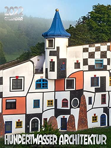 Großer Hundertwasser Architektur Kalender 2022: Das Original