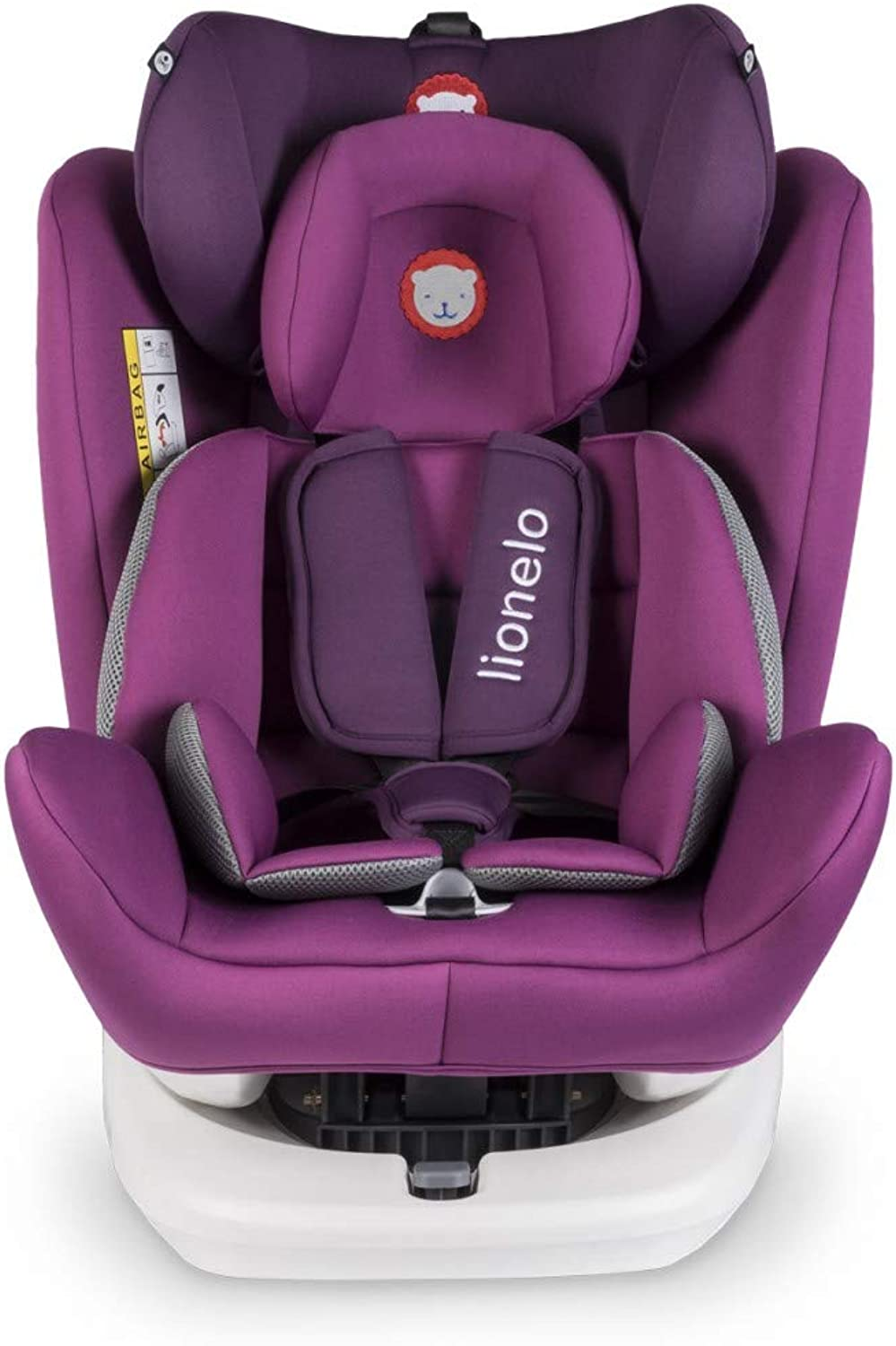 Lionelo 5902581654229 Lo-Bastiaan purple Car Safety Seat, Multi-colors
