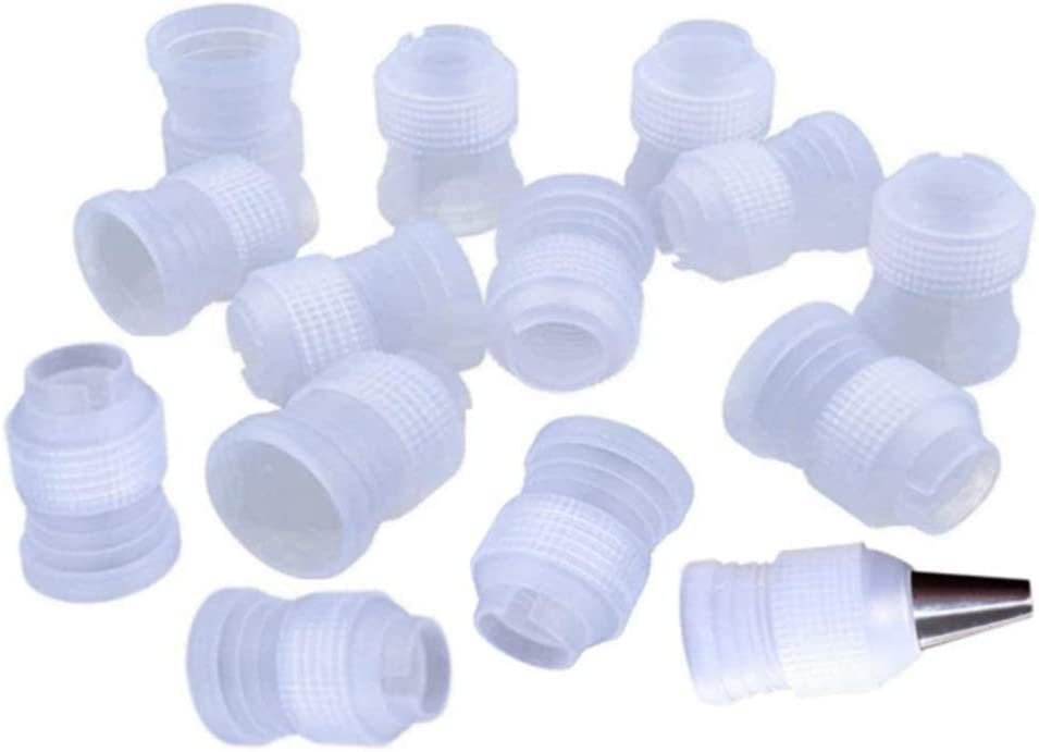 Financial sales sale 30 Columbus Mall Pack Plastic Standard Couplers T Cake Decorating Coupler Pipe