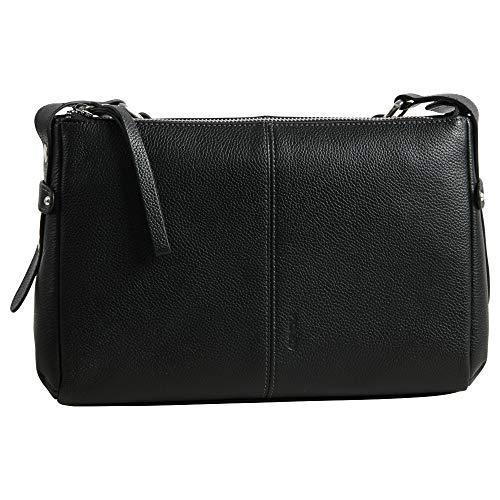 PICARD Hommes Pocket Sac /à bandouli/ère Milano Noir 8385