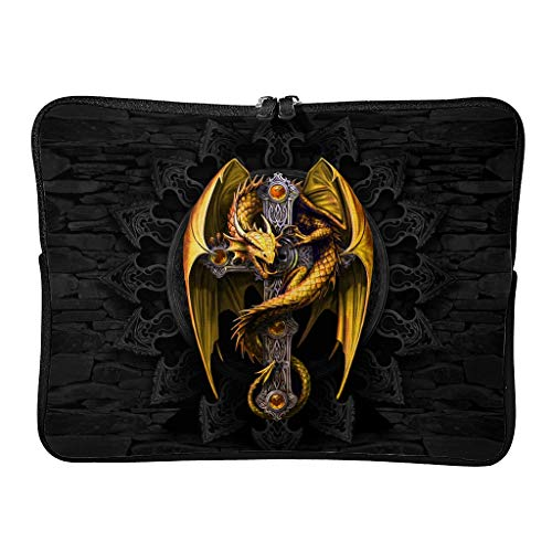 Standard Red Dragon Laptop Bags Modern Lightweight Cool Laptop Sleeve Suitable for School