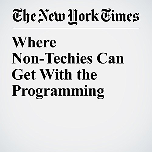 Where Non-Techies Can Get With the Programming copertina