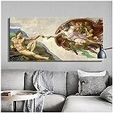 Sixtinische Kapelle Deckenfresko von Michelangelo,