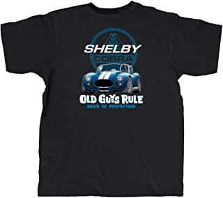 T Shirt for Men | Shelby 427 Cobra | Cool, Funny Graphic Tee for Dad, Husband, Grandfather Gift | Black