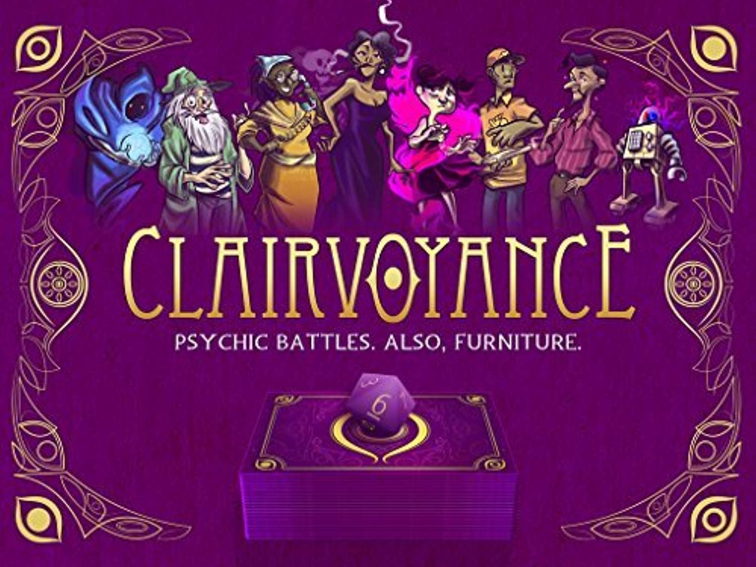 Clairvoyance Card Game by Eye4Games