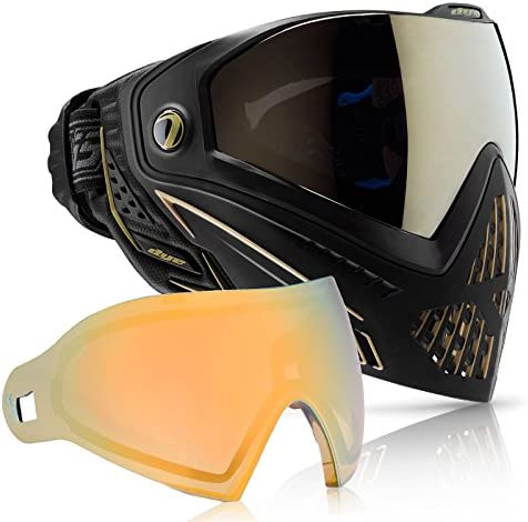 Dye i5 Paintball Goggle Onyx At the price of surprise Max 54% OFF with Faded Co Lens Thermal Sunrise