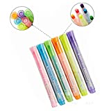 Colorfulworld Textmarker Highlighter Pens Marker Set Graffiti Pens für Studenten Manga Künstler...
