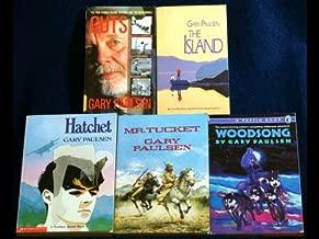 Gary Paulsen Set 3 (Hatchet, The Island, Mr. Tucket, Woodsong, Guts)