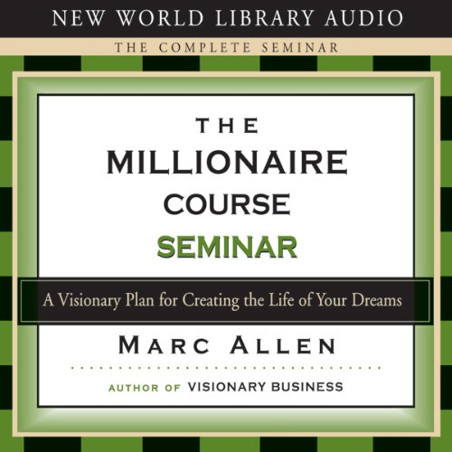 The Millionaire Course audiobook cover art