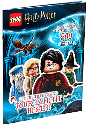 LEGO(R) Harry Potter(TM): Let the Triwizard Tournament Begin! (Coloring Books)