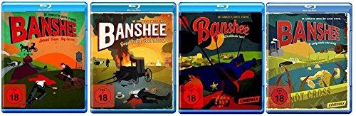 Banshee Staffel 1-4 (1+2+3+4, 1 bis 4) Die komplette Serie [Blu-ray Set]