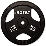 IROTEC(アイロテック) アイアンプレート 15KG / バーベル兼用プレート