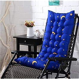 Épaissir Lounger Chaise Coussin Chaise À Bascule Coussin De Chaise en Rotin Pliable pour Bureau À Domicile Jardin…