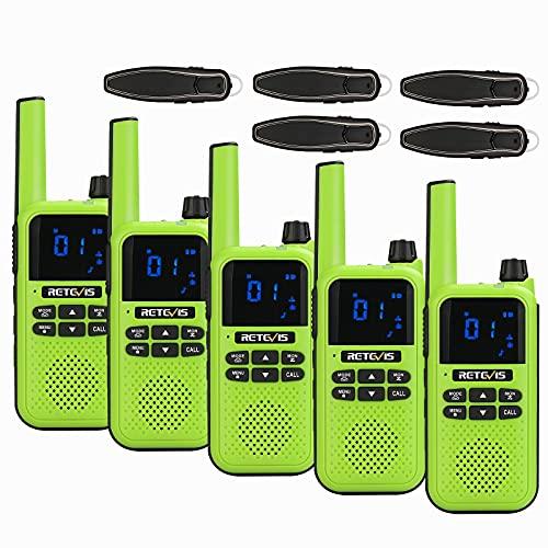 Retevis RA619 Walkie Talkie Bluetooth, Copia Wireless, PMR446, Promemoria Vibrazione,...