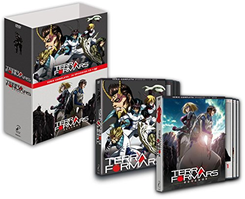 Terraformars + Terraformars Revenge Serie Completa (Repaqueteado) [DVD]