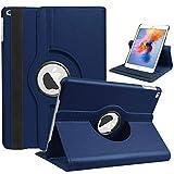 【360Rotating】360度回転保護ケース/カバー iPad ケース iPad 2019年新型モデルiPad7[第7世代iPad 10.2インチ: A2197 A2200 A2198](対応機種:2019年 iPad 10.2inch 第7世代)(ダークブルー)