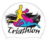 Turbo Power Suede Triathlon Flour Boina, Blanc, Unique Unisex Adulto