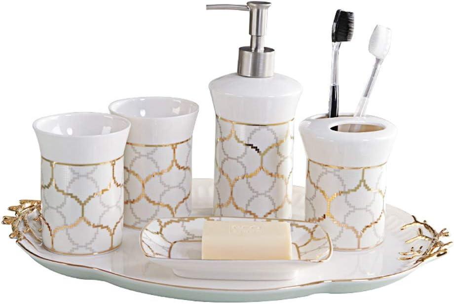 Max 88% OFF VREF Countertop Max 46% OFF Bathroom Accessories Set Ceramic American Bathro