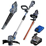 Westinghouse Cordless String Edger, Blower and Hedge Trimmer, 2.0 Ah Battery and Charger Included