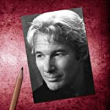 Seasons RICHARD GERE - ACEO Sketch Card (Signed by the